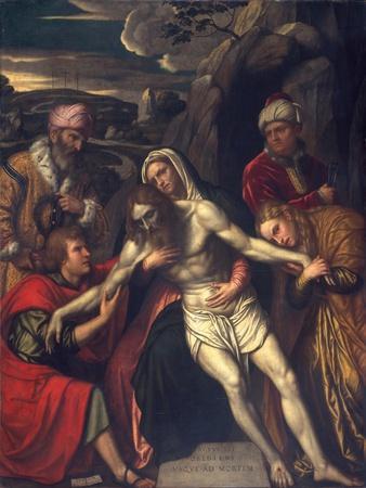 The Entombment, 1554