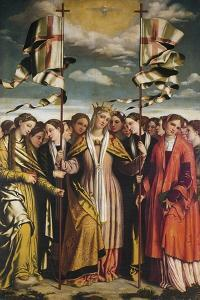 Saint Ursula and Her Martyred Companions, 1530 by Alessandro Bonvicino