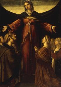 The Madonna della Misericordia by Alessandro Bonvicino