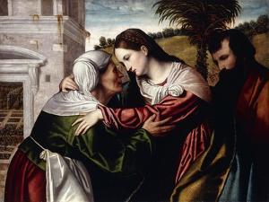 The Visitation by Alessandro Bonvicino