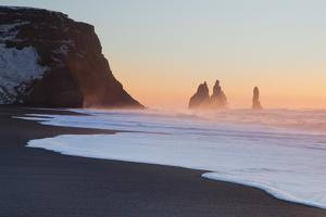 Iceland, South Iceland, the Black Beach of Vik by Alessandro Carboni
