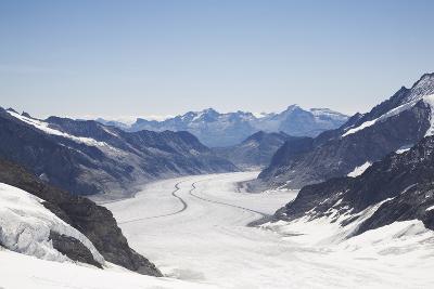 Aletsch Glacier, UNESCO World Heritage Site, Kleine Scheidegg-Angelo Cavalli-Photographic Print