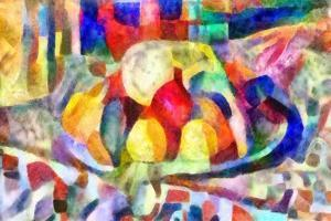 still life from colours,2017 by Alex Caminker