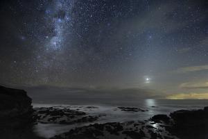 Milky Way Over Cape Schanck, Australia by Alex Cherney