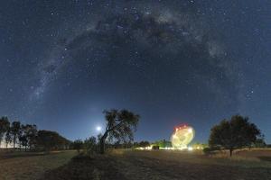 Milky Way Over Parkes Observatory by Alex Cherney