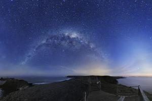 Milky Way Over Phillip Island, Australia by Alex Cherney