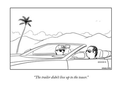 New Yorker Cartoon by Alex Gregory