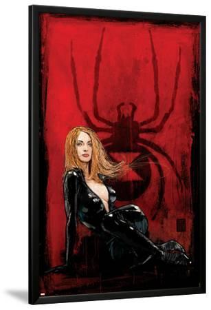 Daredevil No.63 Cover: Black Widow