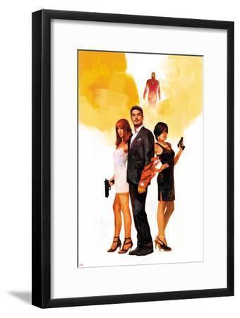 International Iron Man No. 1 Cover Featuring Mary Jane Watson, Stark, Tony, Iron Man, Amara Perera