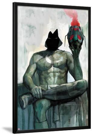 Moon Knight No.2 Cover: Moon Knight Sitting