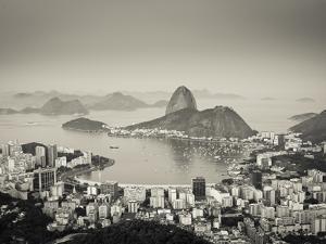 Brazil, Rio De Janeiro, Sugar Loaf (Pao De Acucar) and Morro De Urca in Botafogo Bay by Alex Robinson
