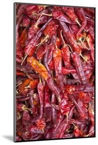 Chilli Peppers in the Market, Monywa, Sagaing, Myanmar, Southeast Asia by Alex Robinson