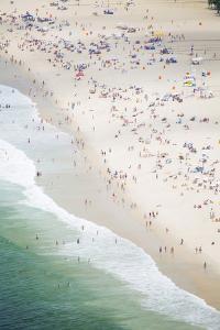 Copacabana Beach, Rio De Janeiro, Brazil, South America by Alex Robinson