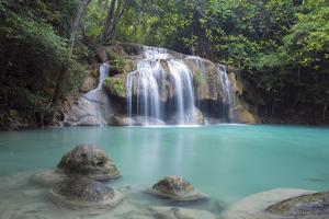 Erawan Falls, Kanchanaburi, Thailand, Southeast Asia, Asia by Alex Robinson