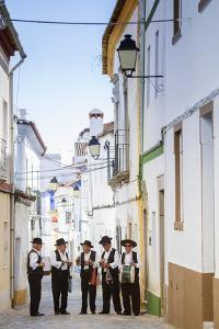 Europe, Portugal, Alentejo, Arronches, a Local Folk Group in Arronches by Alex Robinson