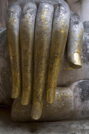 Hand of the Phra Achana Buddha Figure