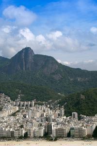 Ipanema and Corcovado, Rio De Janeiro, Brazil, South America by Alex Robinson