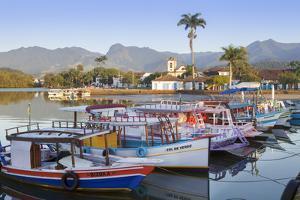 Paraty Port, Rio De Janeiro State, Brazil, South America by Alex Robinson