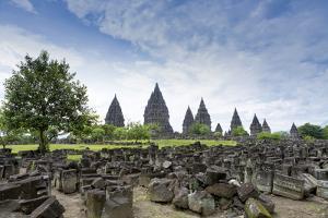 Prambanan Hindu Temples, UNESCO World Heritage Site, Near Yogyakarta, Java, Indonesia by Alex Robinson