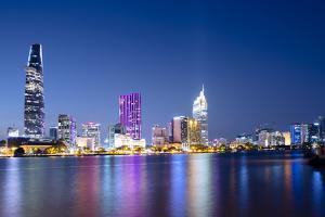Saigon River, Ho Chi Minh City, Vietnam, Southeast Asia by Alex Robinson