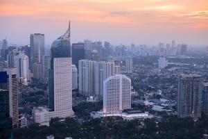Skyline, Jakarta, Indonesia, Southeast Asia by Alex Robinson