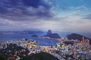 South America, Brazil, Rio De Janeiro, Sugar Loaf by Alex Robinson