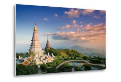 Temples at Doi Inthanon, the Highest Peak in Thailand, Chiang Mai Province