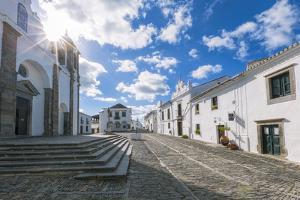 The Centre of the Medieval Town of Monsaraz, Alentejo, Portugal, Europe by Alex Robinson