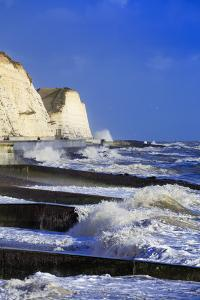 The White Chalk Cliffs at Peacehaven, Near Brighton, East Sussex, England, United Kingdom, Europe by Alex Robinson