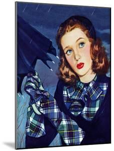 """""""April Shower,"""" April 8, 1944 by Alex Ross"""