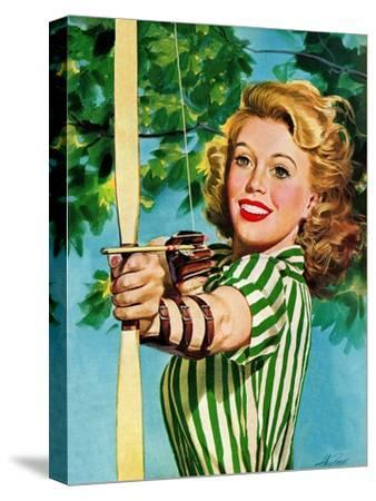 """Woman Archer,"" July 22, 1944"