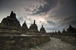 Borobudur Temple, a World Heritage Site in Central Java by Alex Saberi
