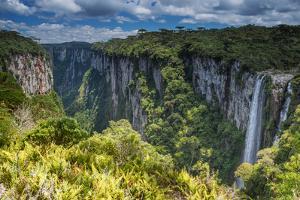 Itaimbezinho Canyon in Cambara Do Sul, Rio Grande Do Sul, Brazil by Alex Saberi