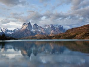 Los Cuernos Del Paine Seen across Lake Pehoe by Alex Saberi