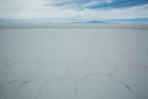 The Salt Crust on the Salar De Uyuni by Alex Saberi