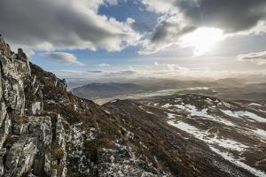 A View across the Cairngorms from the Top of Creag Dubh Near Newtonmore, Cairngorms National Park by Alex Treadway