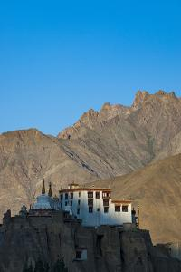 A View of Magnificent 1000-Year-Old Lamayuru Monastery in Remote Region of Ladakh in Northern India by Alex Treadway