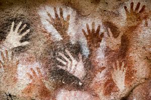 Cueva de las Manos (Cave of Hands), UNESCO World Heritage Site, Patagonia, Argentina by Alex Treadway