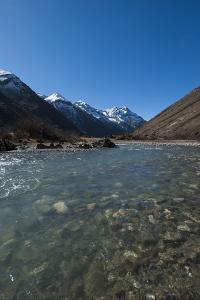 Meltwater from the Himalayas, Thimpu District, Bhutan, Asia by Alex Treadway