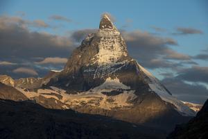 The Matterhorn Seen from Beside the Gorner Glacier by Alex Treadway