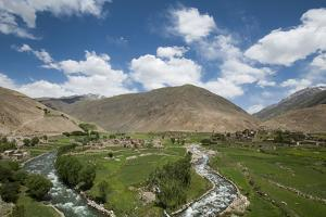 The Panjshir Valley, Afghanistan, Asia by Alex Treadway