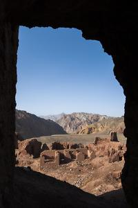 The Ruined City of Shahr-E Zohak in the Bamiyan Province, Afghanistan, Asia by Alex Treadway