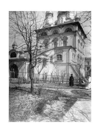 Monastery and Church of the Virgin of the Sign, Moscow, Russia, 1900