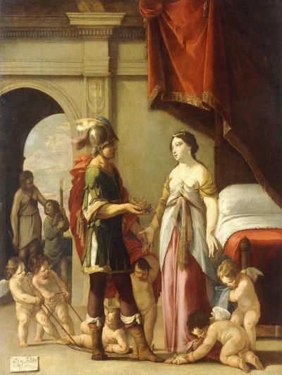 Alexander and Roxana, 1635-Laurent de La Hire-Giclee Print