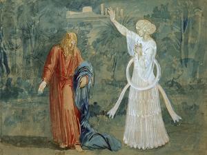 Christ in Gethsemane, End 1840S by Alexander Andreyevich Ivanov