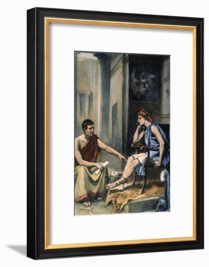 Alexander & Aristotle--Framed Giclee Print