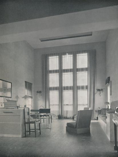 'Alexander B. Trowbridge - Interior of the summer cottage built for Mr. L. Corrin Strong', 1933-Unknown-Photographic Print