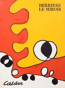 Abstract (Cover) from Derriere Le Miroir by Alexander Calder