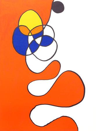 Abstract III from Derriere Le Miroir by Alexander Calder