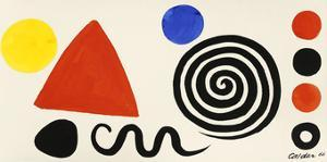 Abstraction, 1966 by Alexander Calder